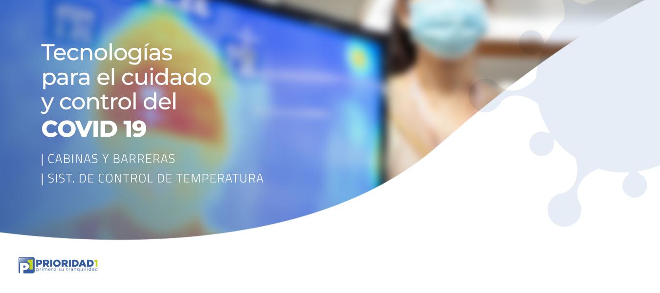 Tecnologías para el cuidado y control de Covid19