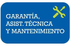Garantía, Asist. técnica y mantenimiento