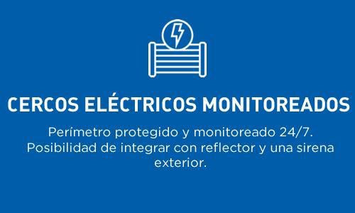 Cercos eléctricos monitoreados | Perímetro protegido